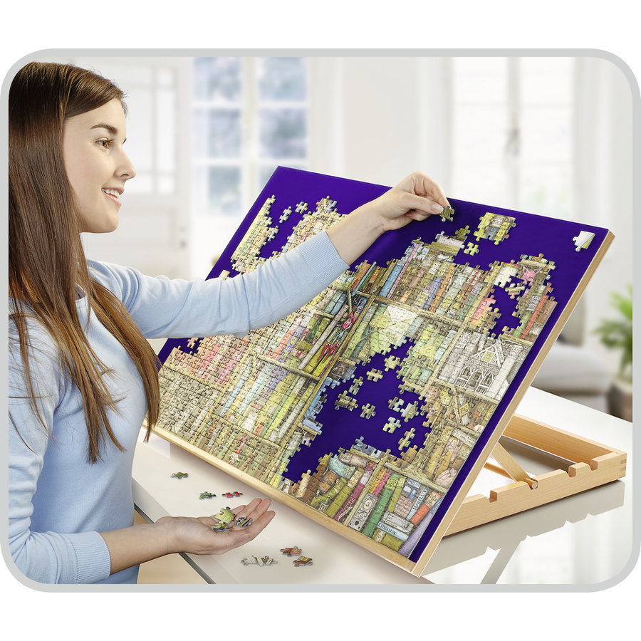 Ergonomisch puzzelbord - voor puzzels tot 1000 stukjes-1