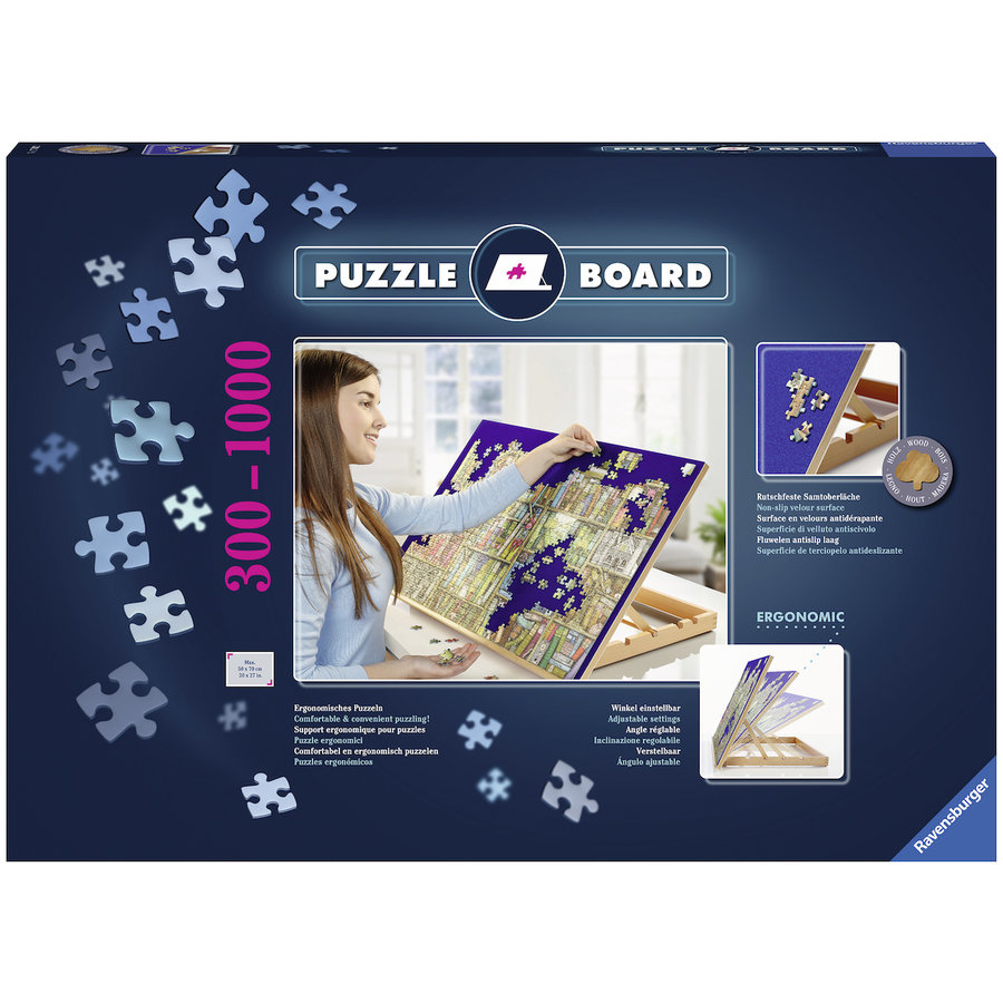 Ergonomic Puzzle board - for puzzles up to 1000 pieces-4