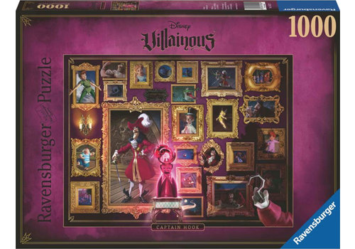 Villainous  Captain Hook  - 1000 pieces