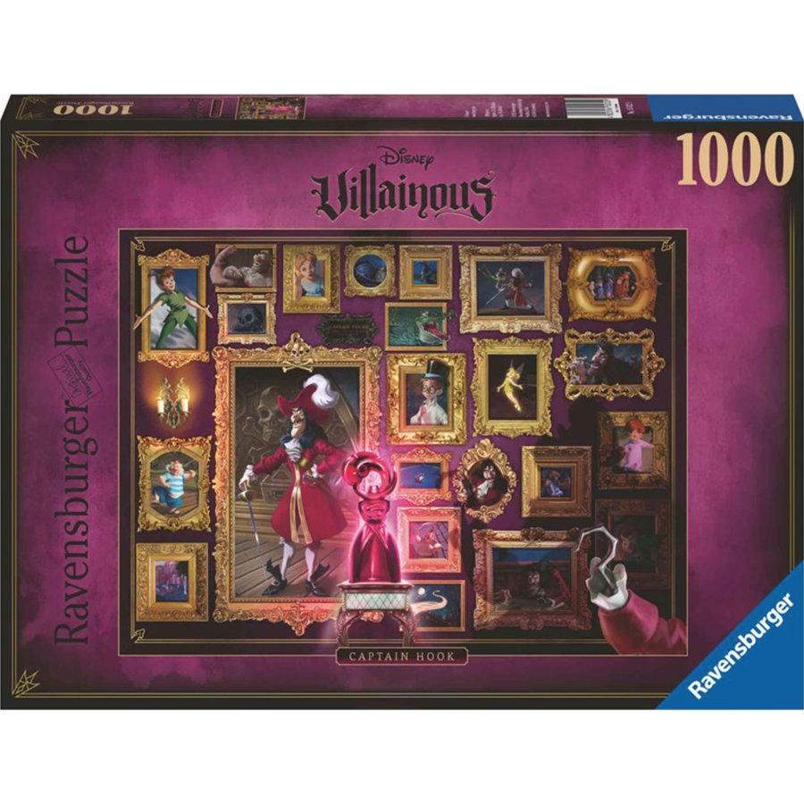 Villainous  Captain Hook - puzzle of 1000 pieces-1