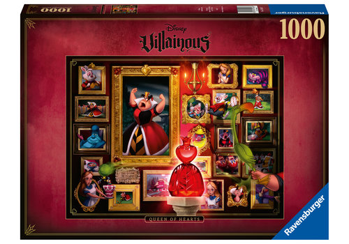 Villainous  Queen of Heart  - 1000 pieces