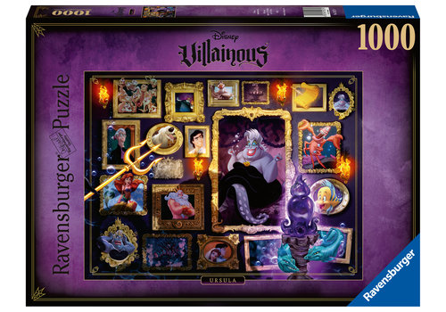 Villainous  Ursula  - 1000 pieces