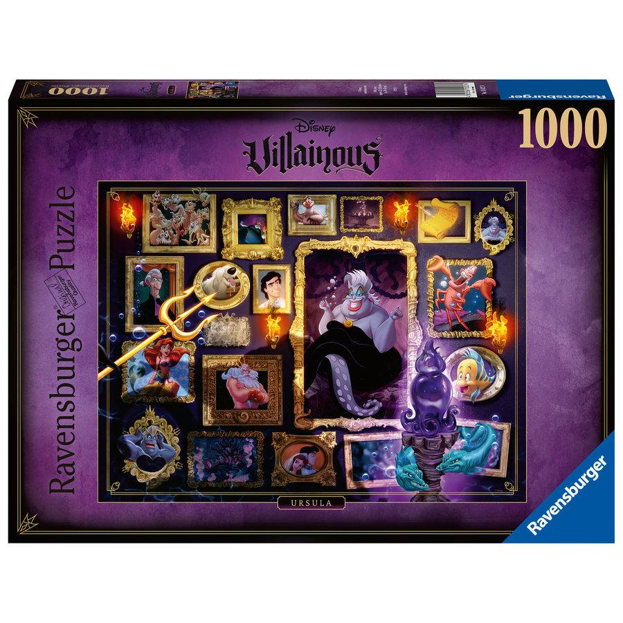 Villainous  Ursula - puzzel van  1000 stukjes-1