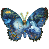 Fantasy Butterfly - jigsaw puzzle of 1000 pieces