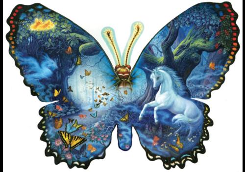 Fantasie Vlinder - 1000 stukjes