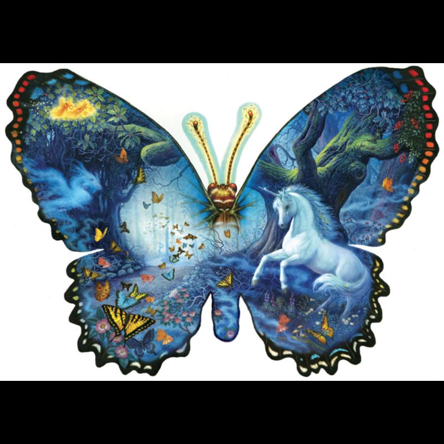 Fantasie Vlinder - legpuzzel van 1000 stukjes-1