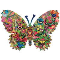 Butterfly Menagerie  - jigsaw puzzle of 1000 pieces