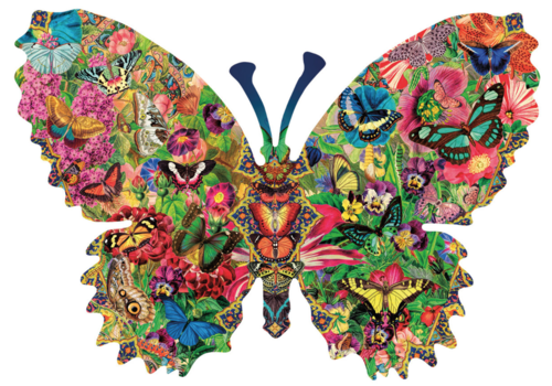 Butterfly Menagerie - 1000 pieces