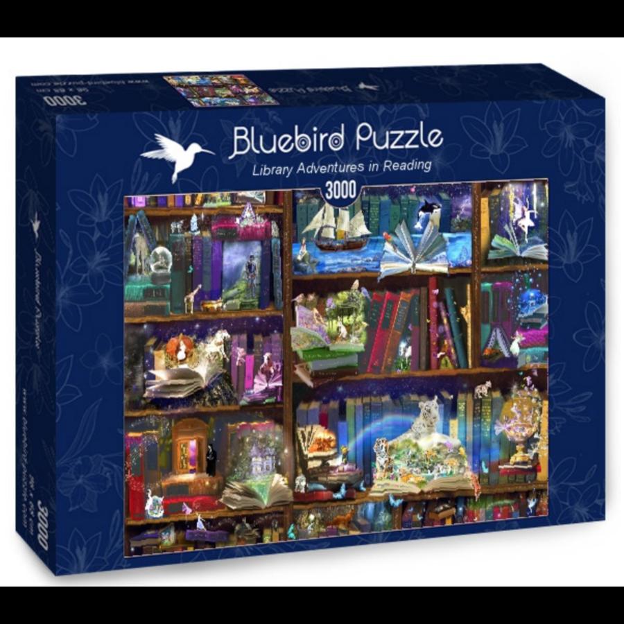Bibliotheek avonturen - puzzel van 3000 stukjes-2