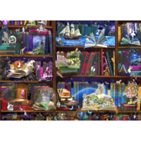 thumb-Library adventures - puzzle of 3000 pieces-1