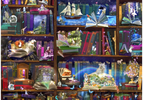 Library adventures - 3000 pieces