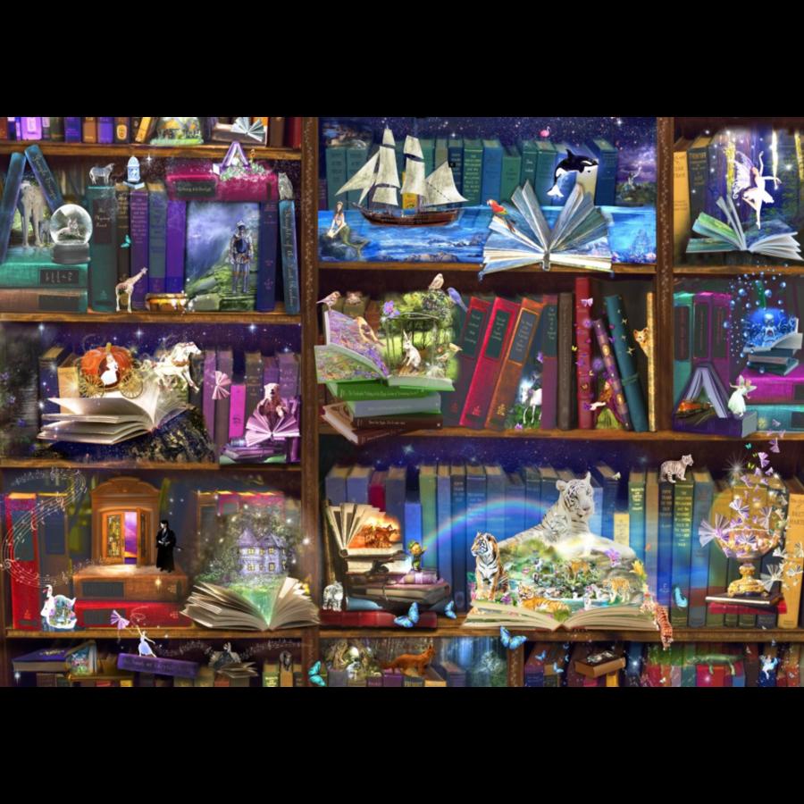 Bibliotheek avonturen - puzzel van 3000 stukjes-1