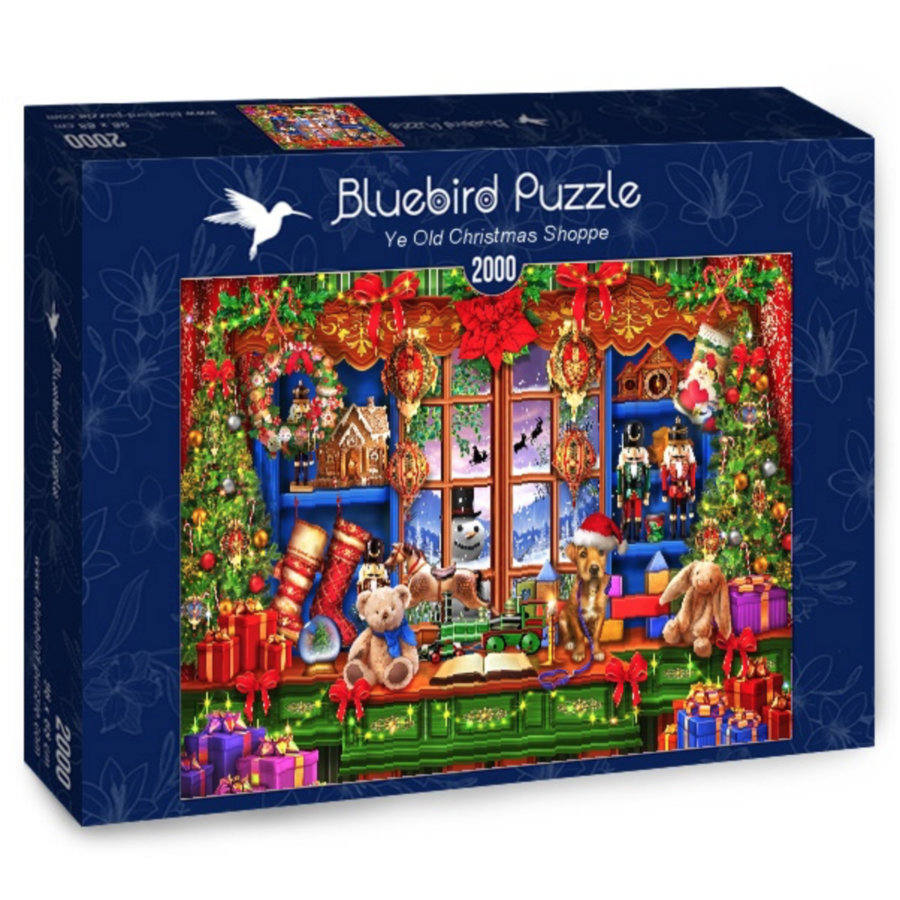 Ye Old Christmas Shoppe  - puzzle of 2000 pieces-2