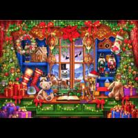 thumb-Ye Old Christmas Shoppe - puzzel van 2000 stukjes-1