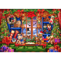 thumb-Ye Old Christmas Shoppe  - puzzle of 2000 pieces-1
