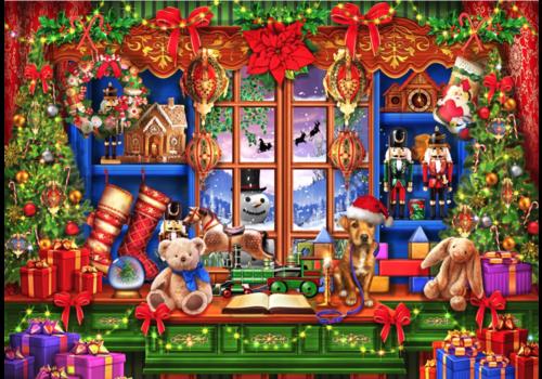 Bluebird Puzzle Ye Old Christmas Shoppe - 2000 stukjes