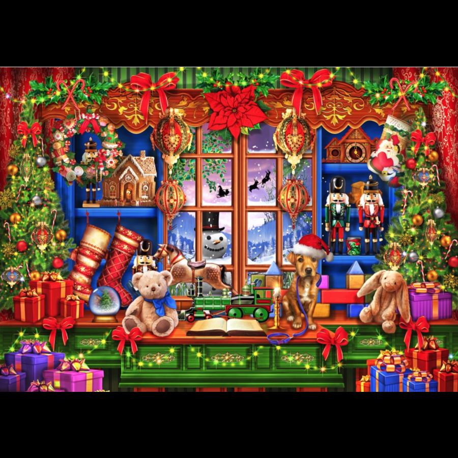 Ye Old Christmas Shoppe - puzzel van 2000 stukjes-1