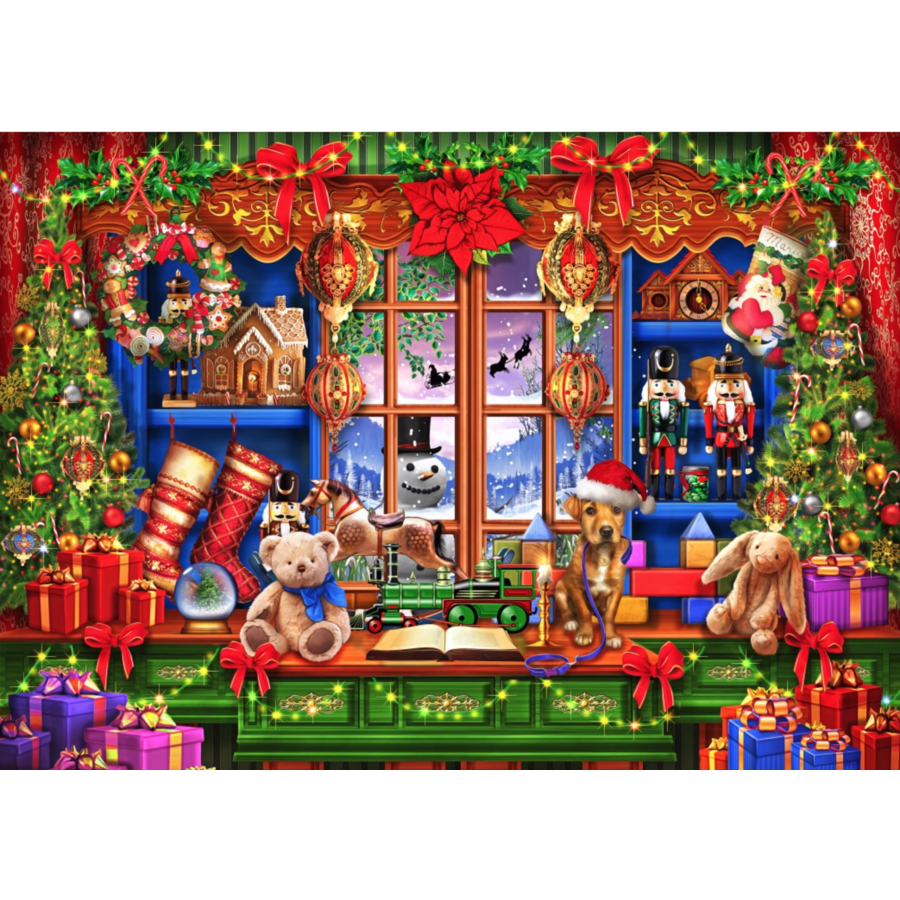 Ye Old Christmas Shoppe  - puzzle of 2000 pieces-1