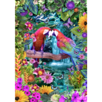 thumb-Parrot Paradise - puzzle of 1500 pieces-1