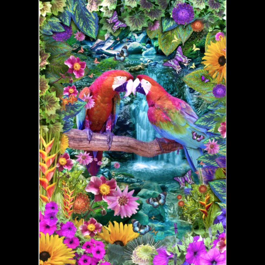 Parrot Paradise - puzzle of 1500 pieces-1