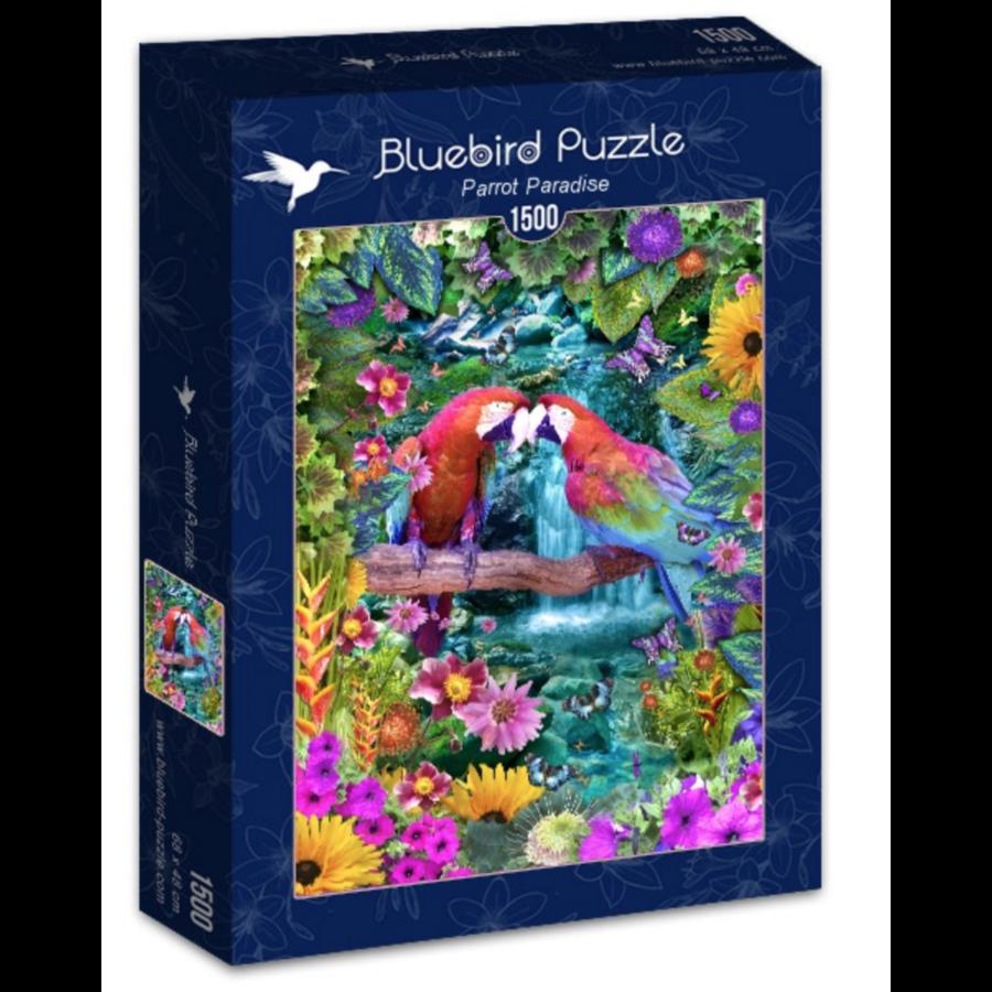 Parrot Paradise - puzzle of 1500 pieces-2