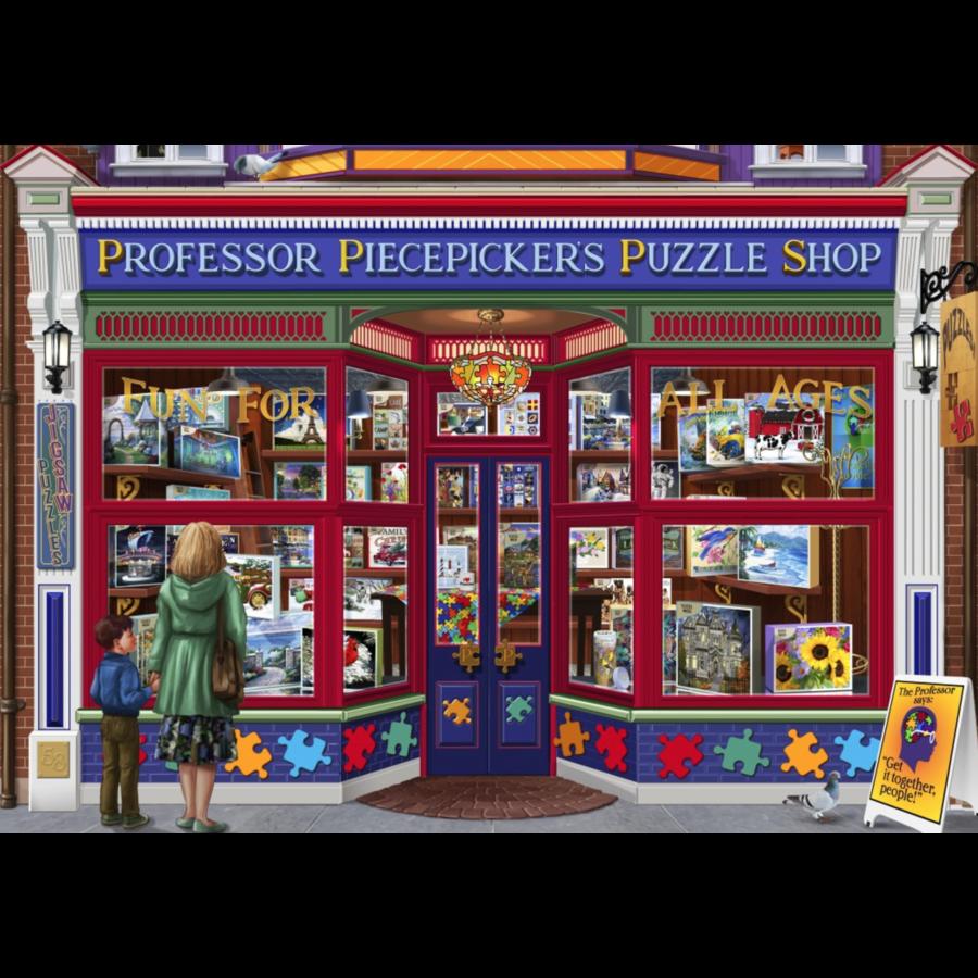 De puzzelwinkel 'professor puzzles' - puzzel van 1500 stukjes-2