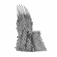 thumb-Iron Throne - GOT - Iconx puzzle 3D-3