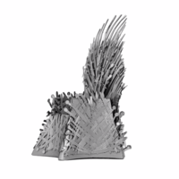 thumb-Iron Throne - GOT - Iconx puzzle 3D-5
