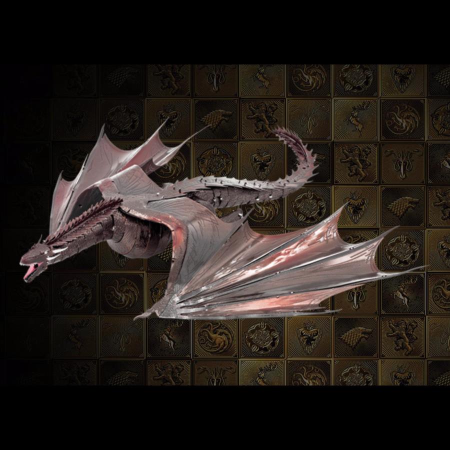 Drogon - GOT - Iconx 3D puzzel-1