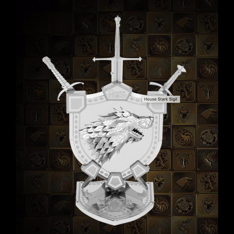 House Stark Sigil - GOT - Iconx 3D puzzel-1