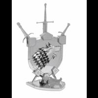 thumb-House Stark Sigil - GOT - Iconx 3D puzzel-2