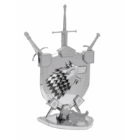 thumb-House Stark Sigil - GOT - Iconx puzzle 3D-2