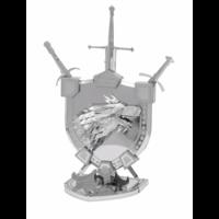thumb-House Stark Sigil - GOT - Iconx 3D puzzel-3
