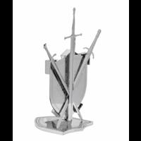 thumb-House Stark Sigil - GOT - Iconx 3D puzzle-5