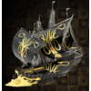 Metal Earth Greyjoy Ship Silence - GOT - Iconx 3D puzzle