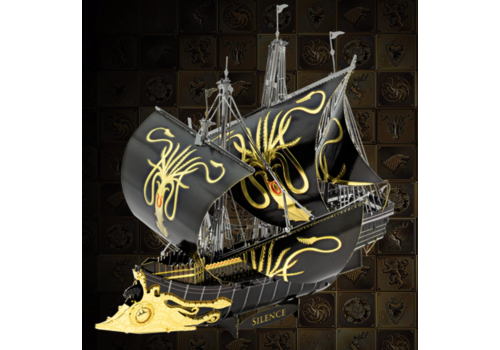 Metal Earth Greyjoy Ship Silence - GOT  - Iconx puzzle 3D