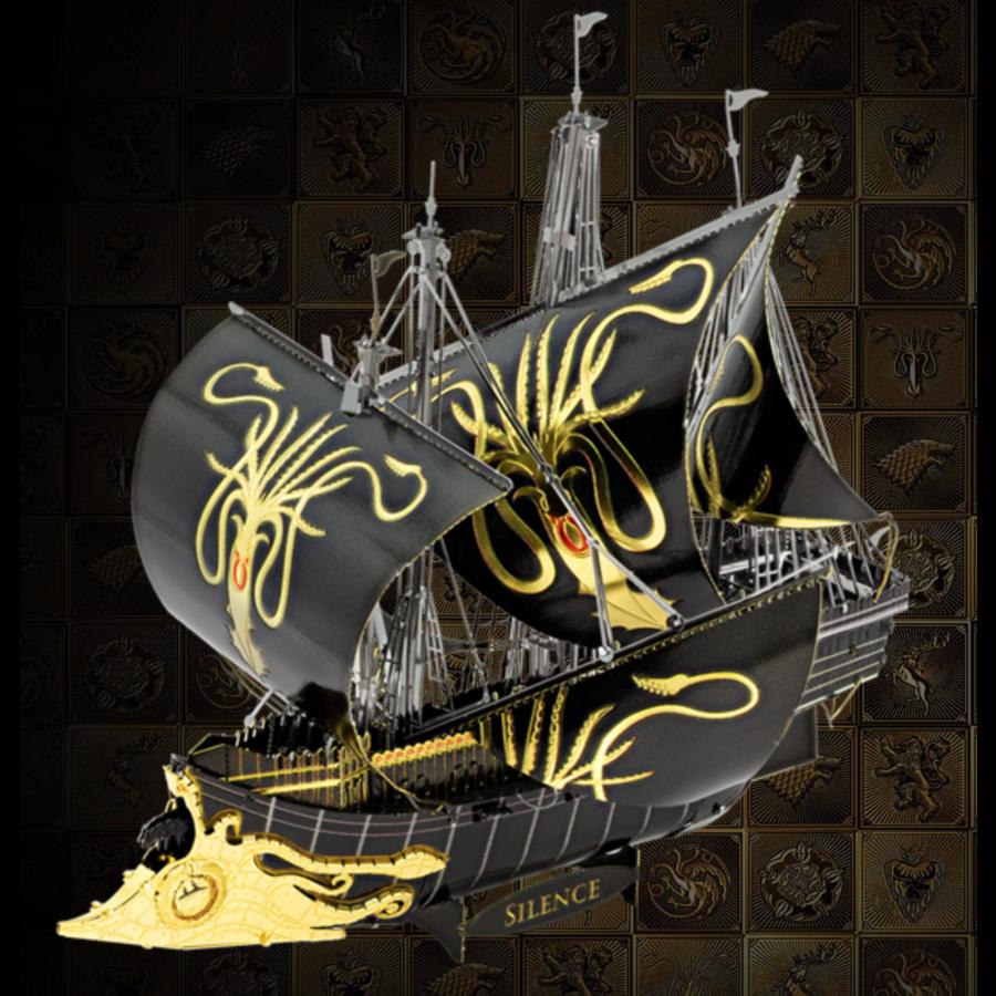 Greyjoy Ship Silence - GOT - Iconx 3D puzzel-1
