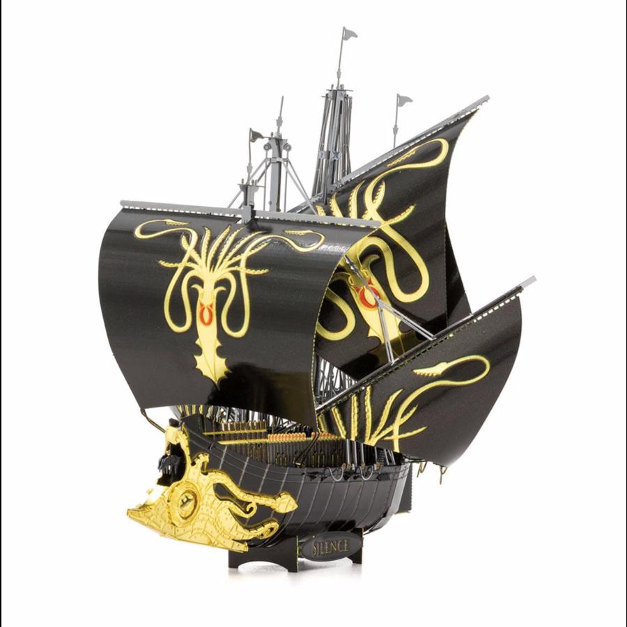 Greyjoy Ship Silence - GOT - Iconx 3D puzzel-3
