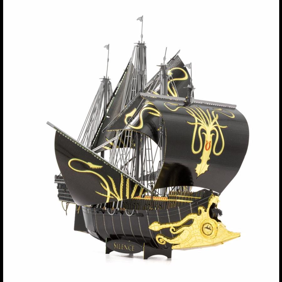 Greyjoy Ship Silence - GOT - Iconx 3D puzzel-6