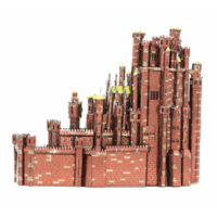 thumb-Red Keep - GOT - Iconx 3D puzzel-5