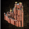 Metal Earth Red Keep - GOT - Iconx 3D puzzle