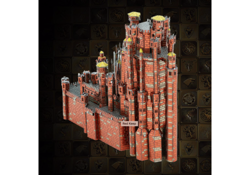 Metal Earth Red Keep - GOT  - Iconx puzzle 3D