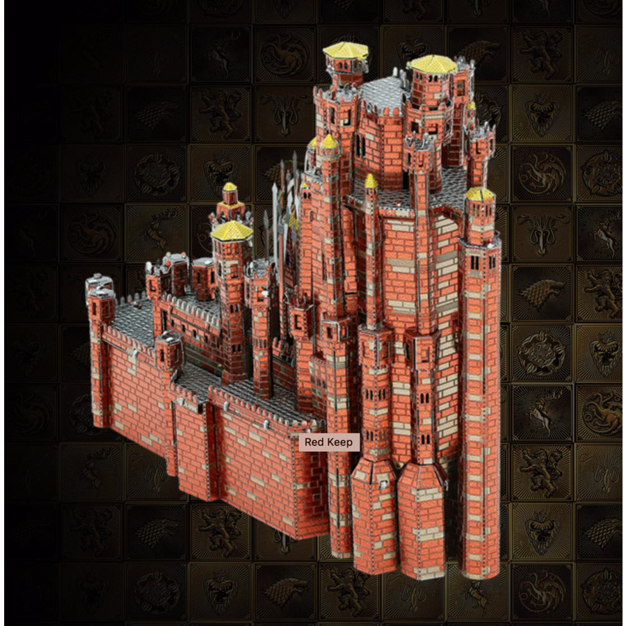 Red Keep - GOT - Iconx 3D puzzel-1