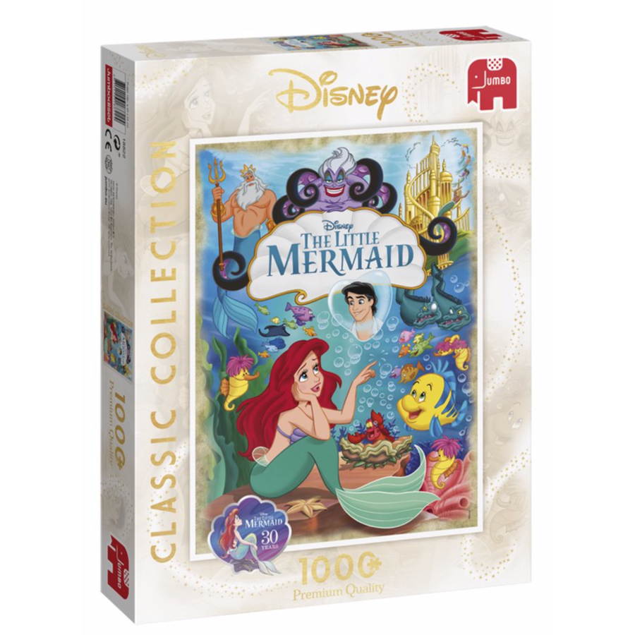 Disney The Little Mermaid - 1000 pieces - Jigsaw Puzzle-1