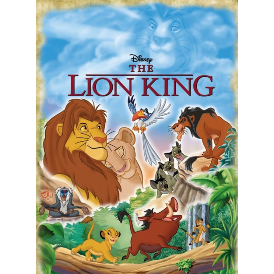 Disney The Lion King - puzzel van 1000 stukjes-2