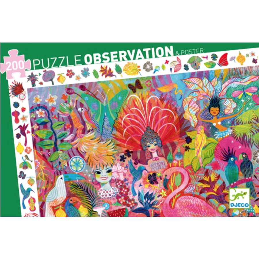 Rio Carnival  - puzzel van 200 stukjes-2