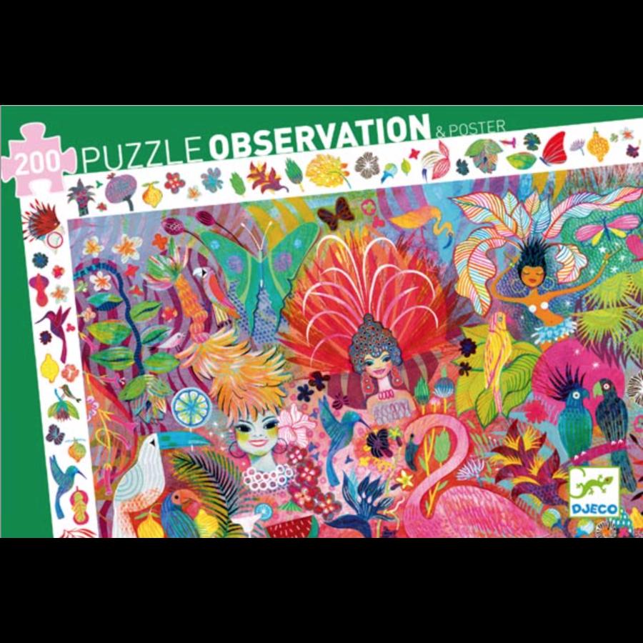Rio Carnival  - puzzle of 200 pieces-2