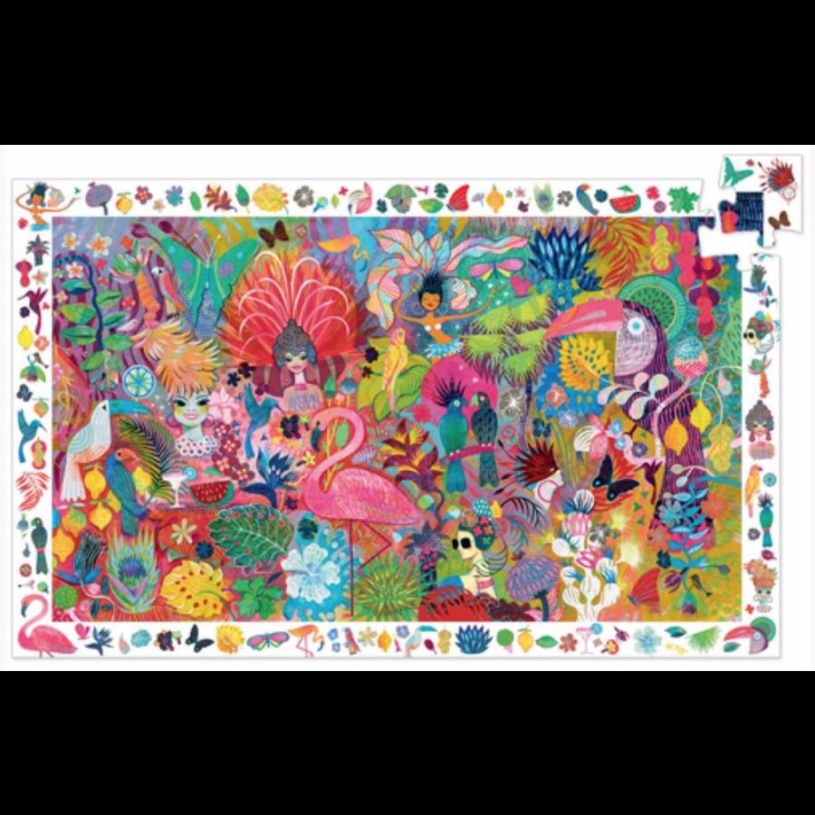 Rio Carnival  - puzzle of 200 pieces-1