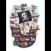 Djeco Het piratenschip - puzzel van 36 stukjes