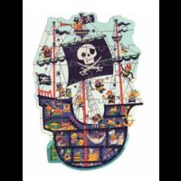 thumb-Het piratenschip - puzzel van 36 stukjes-1